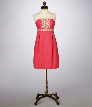 Betsey Dress Wave Jacquard