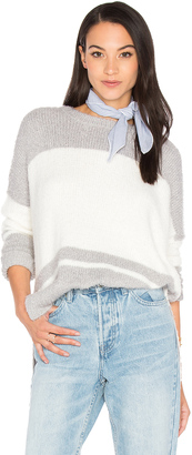 Michael Stars Oversize Striped Sweater $168 thestylecure.com