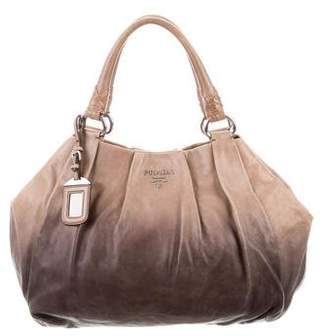 d8637f80a78f ... netherlands pre owned at therealreal prada vitello ombré tote 336cd  33f1e