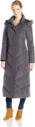 Jones New York Women's Long Maxi Down Coat