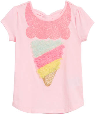 e50f6bb45fb5cf Epic Threads Little Girls Bow-Back Ice Cream T-Shirt