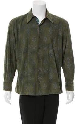 Robert Graham Corduroy Button-Up Shirt