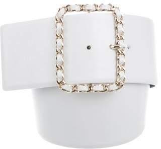 Chanel 2019 Chain-Link Buckle Belt