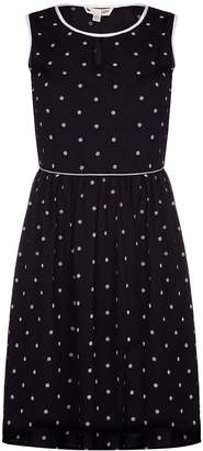 Yumi Womens/Ladies Spots Short Sleeve Tea Dress