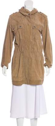 MICHAEL Michael Kors Suede Short Coat