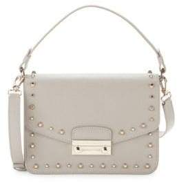 Furla Sabbia Studded Crossbody Bag