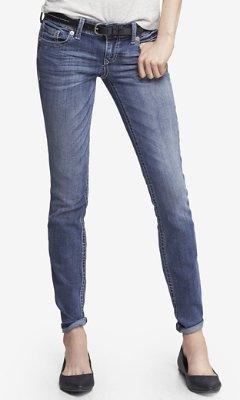 Express Stella Thick Stitch Skinny Leg Jean
