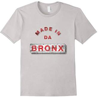 Bronx Made in da Vintage Retro Distressed T-Shirt