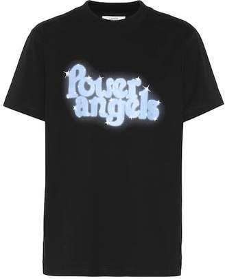 Ganni Johnson printed cotton T-shirt
