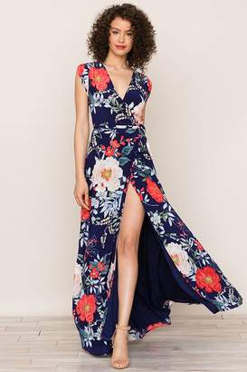 Yumi Kim Swept Away Silk Maxi Dress