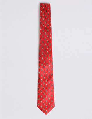 Marks and Spencer Christmas Trees Tie