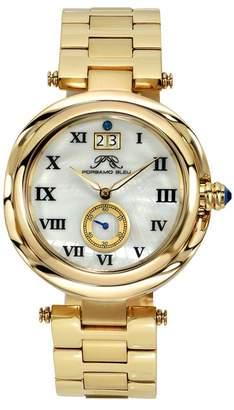 Swarovski Porsamo Bleu Women's South Sea Crystal Bracelet Watch, 40mm