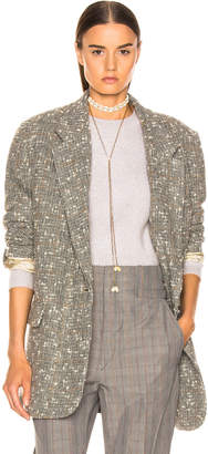Etoile Isabel Marant Orix Blazer in Grey | FWRD