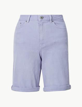 Marks and Spencer Denim Boyfriend Shorts