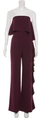Alexis Strapless High-Rise Jumpsuit