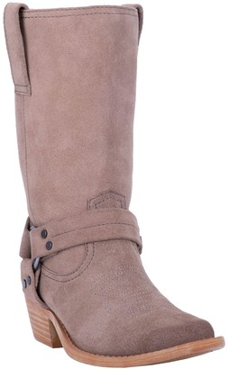 Dingo Pull-On Leather Harness Boots