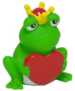 Rubber Duck Lilalu Frog With Heart Bathtime Toy