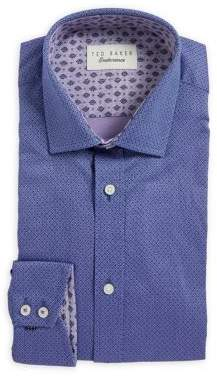 Ted Baker Patterned Cotton Dress Shirt