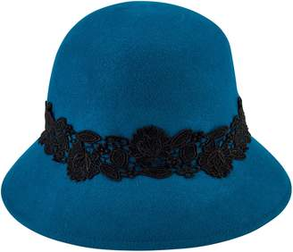 Cloche San Diego Hat Co. with Lace