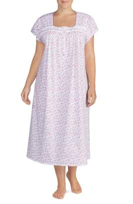 b9a971d230 ... Eileen West Cotton Jersey Nightgown