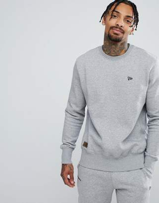 New Era Premium Sweatshirt With Small Logo