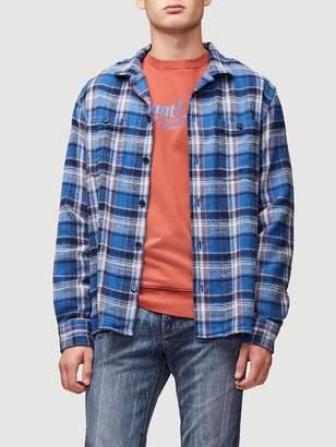 Frame Flannel Shirt Jacket