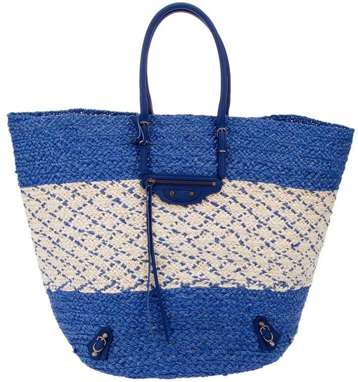 Balenciaga Braided shopper bag