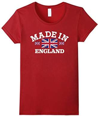 Made in England British Flag Union Jack T-Shirt