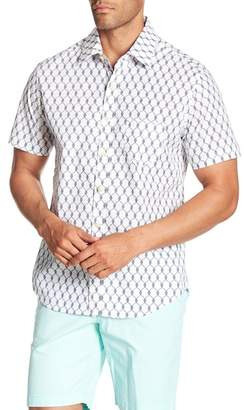 Kennington Knots Short Sleeve Print Shirt