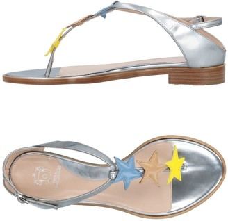 Paula Cademartori Toe strap sandals