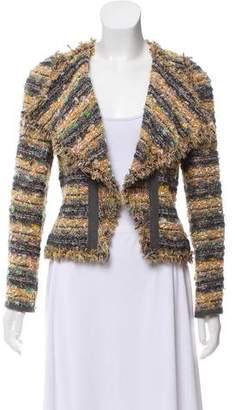 Edward Achour Tweed Casual Jacket