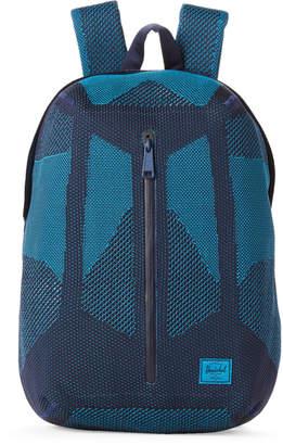 Herschel Blue Apex Dayton Knit Backpack