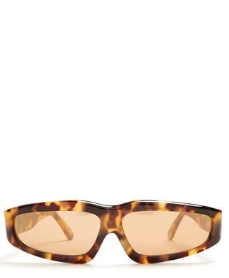 Marques Almeida MARQUES'ALMEIDA Angular frame sunglasses
