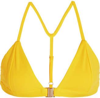 Fella - Louis Triangle Bikini Top - Saffron