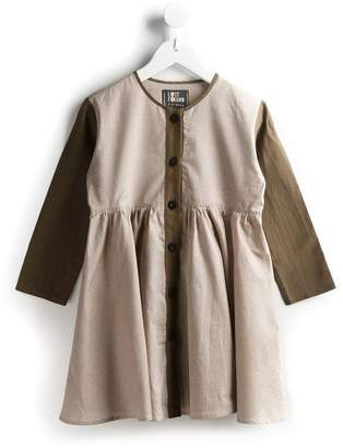 Lost And Found Kids contrast sleeve dress