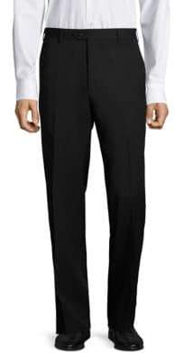 Santorelli Super 130's Regular-Fit Gabardine Trousers