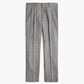 J.Crew Ludlow Classic-fit suit pant in Italian herringbone flannel wool blend