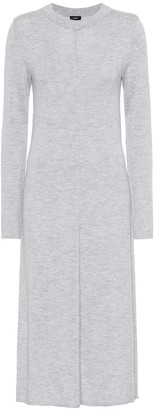 Joseph Merino wool midi dress