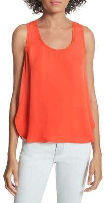 Joie Oceae Silk Tank Top