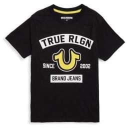 True Religion Boy's Logo Tee