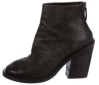 Marsèll Suede Round-Toe Booties