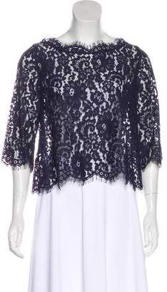 Joie Floral Lace Top