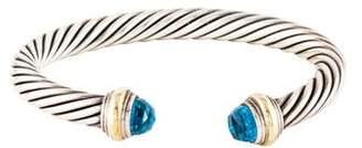 David Yurman Topaz Cable Classics Bracelet