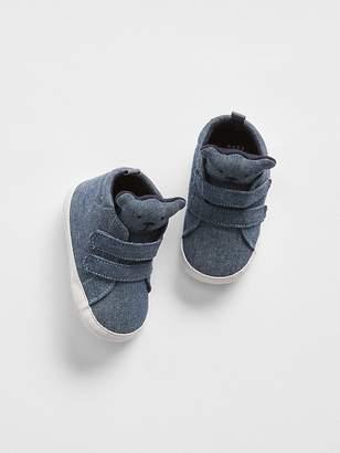 Gap Chambray Bear Sneakers