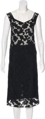 Nina Ricci Silk Lace Dress