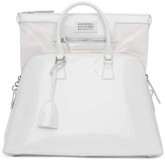 Maison Margiela White Large 5AC Duffle Bag