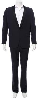 Saint Laurent One-Button Virgin Wool Tuxedo