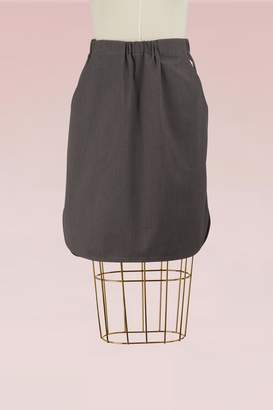 MAISON KITSUNÉ Cotton Ada skirt