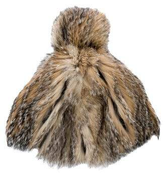 895798be972 Fur Pom Pom Hat - ShopStyle Canada