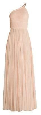 Stella McCartney Women's Asymmetric Tulle A-Line Gown